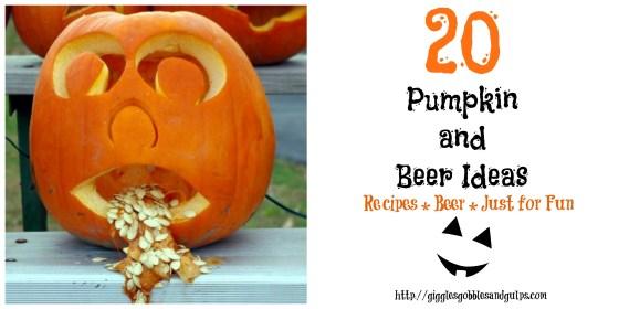 pumpkin and beer ideas