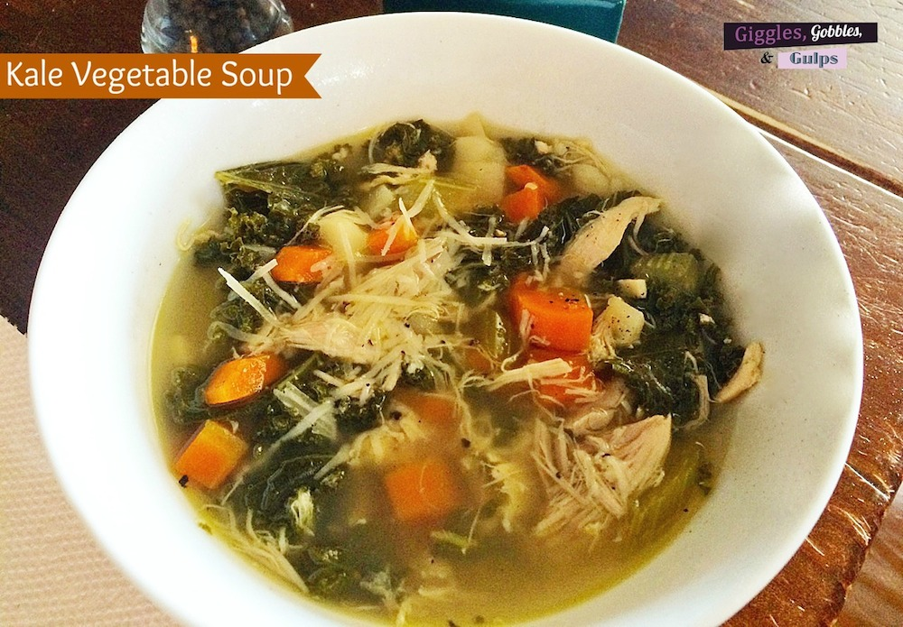 kale chicken soup