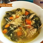 Chicken Kale Vegetable Soup