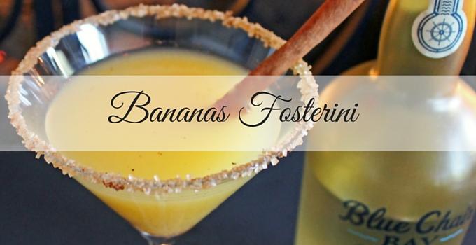 Bananas Fosterini (Bananas Foster Martini)