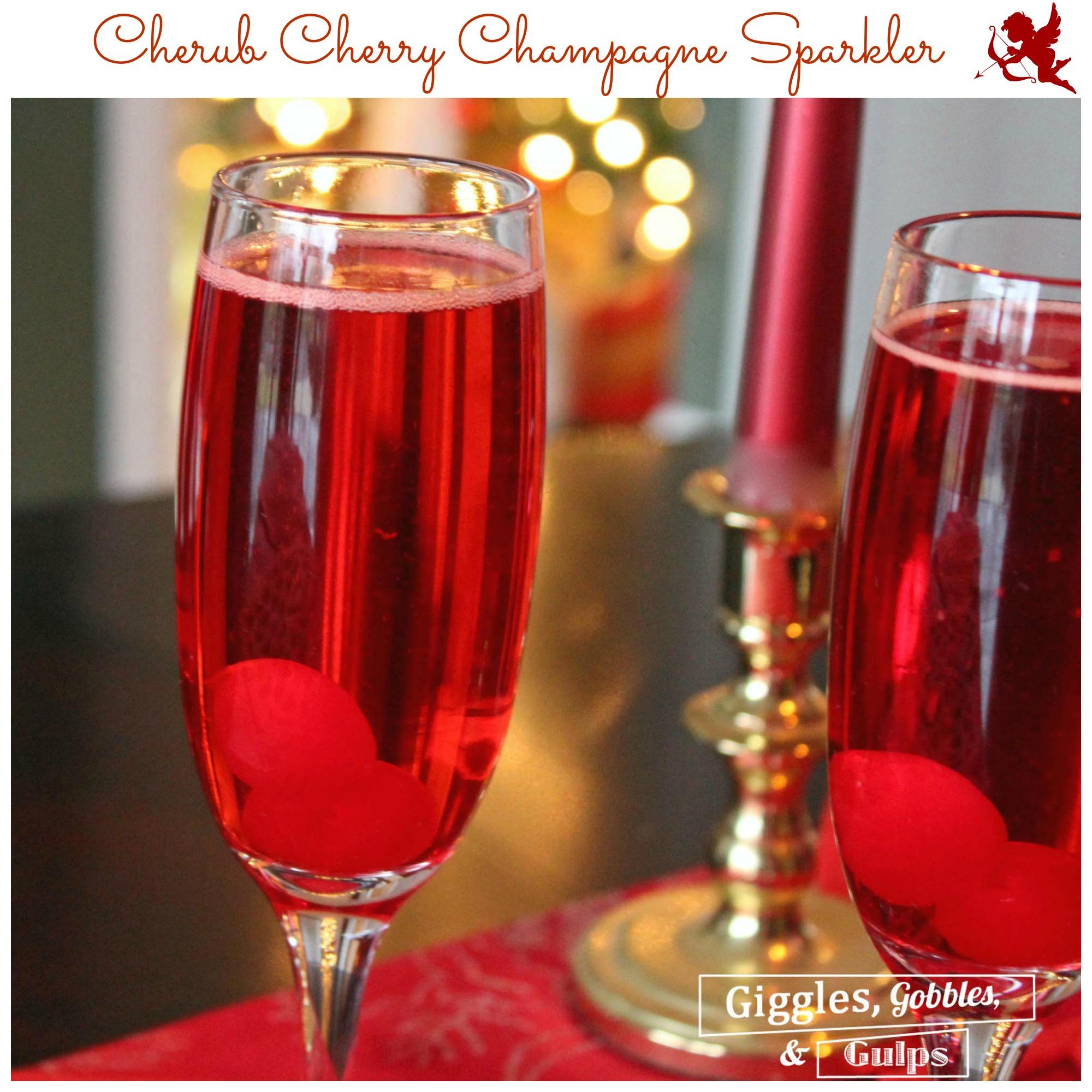 cherry champagne cocktail recipe