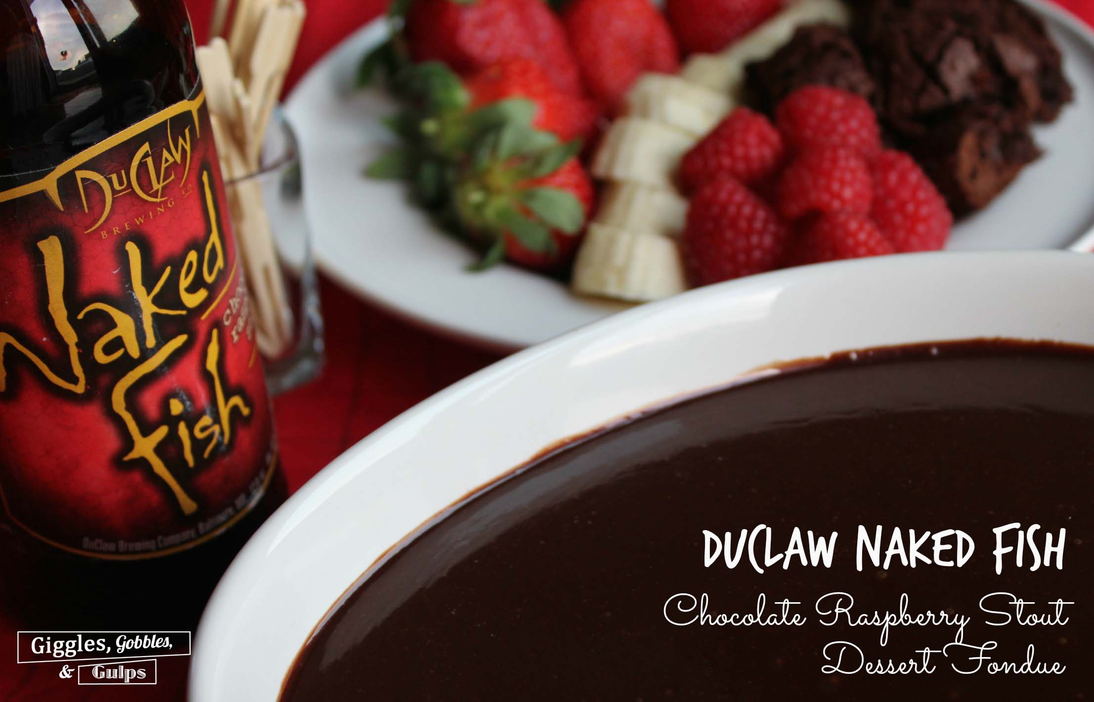 Raspberry Stout Fondue