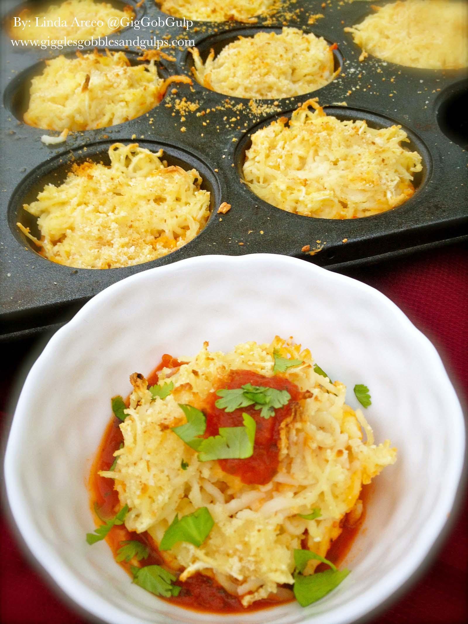 muffin tin spaghetti nests1