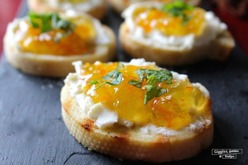 orange marmalade and ricotta bruschetta1
