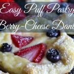 Easy Puff Pastry Berry-Cheese Danish