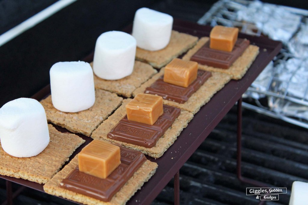 grilled caramel s'mores5