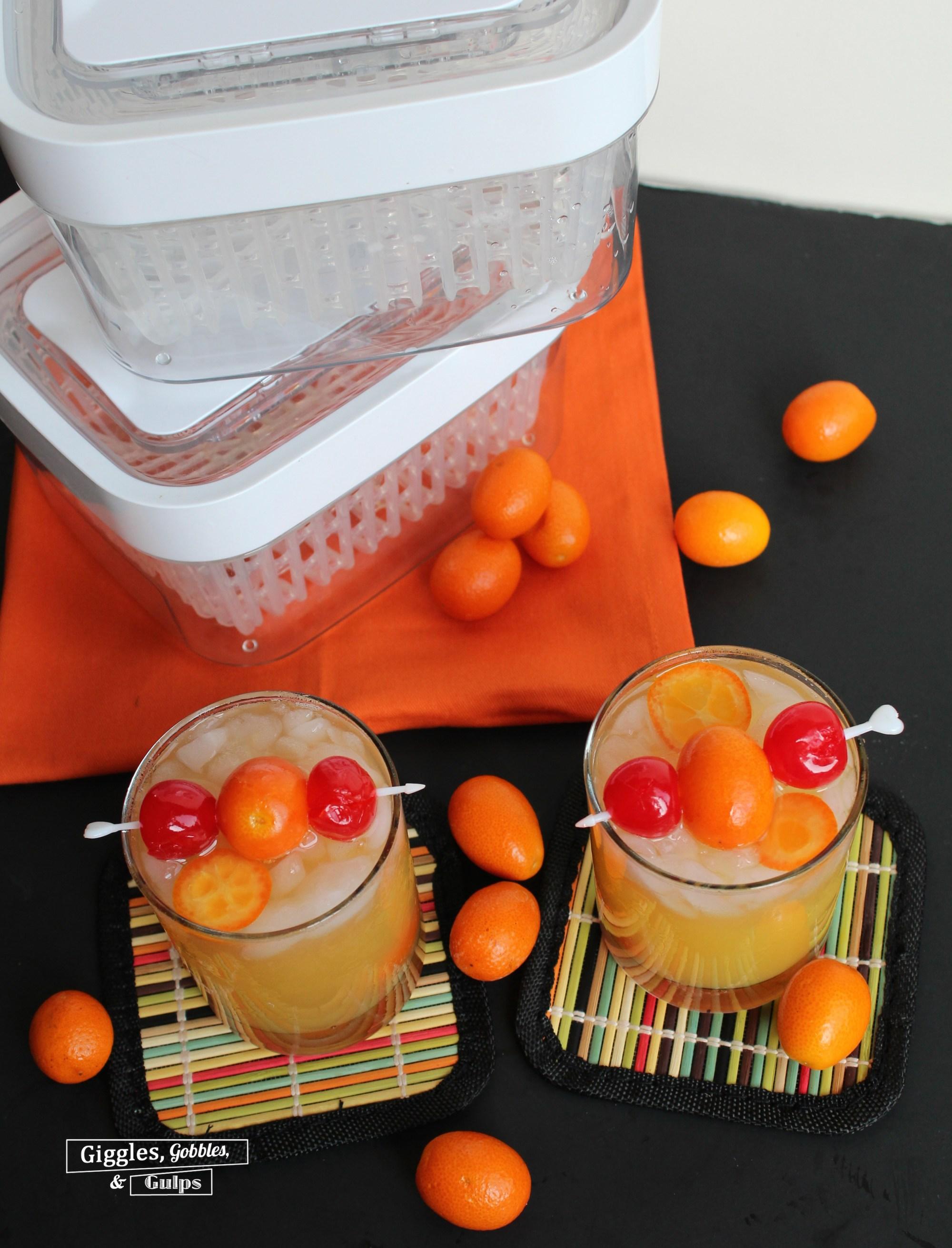 Kumquat Whiskey Sour5