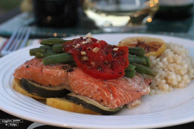 salmon foil packs