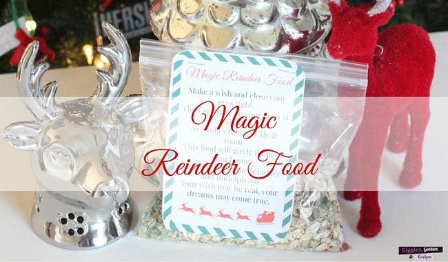 Magic Reindeer Food Recipe | Mini Chef Mondays