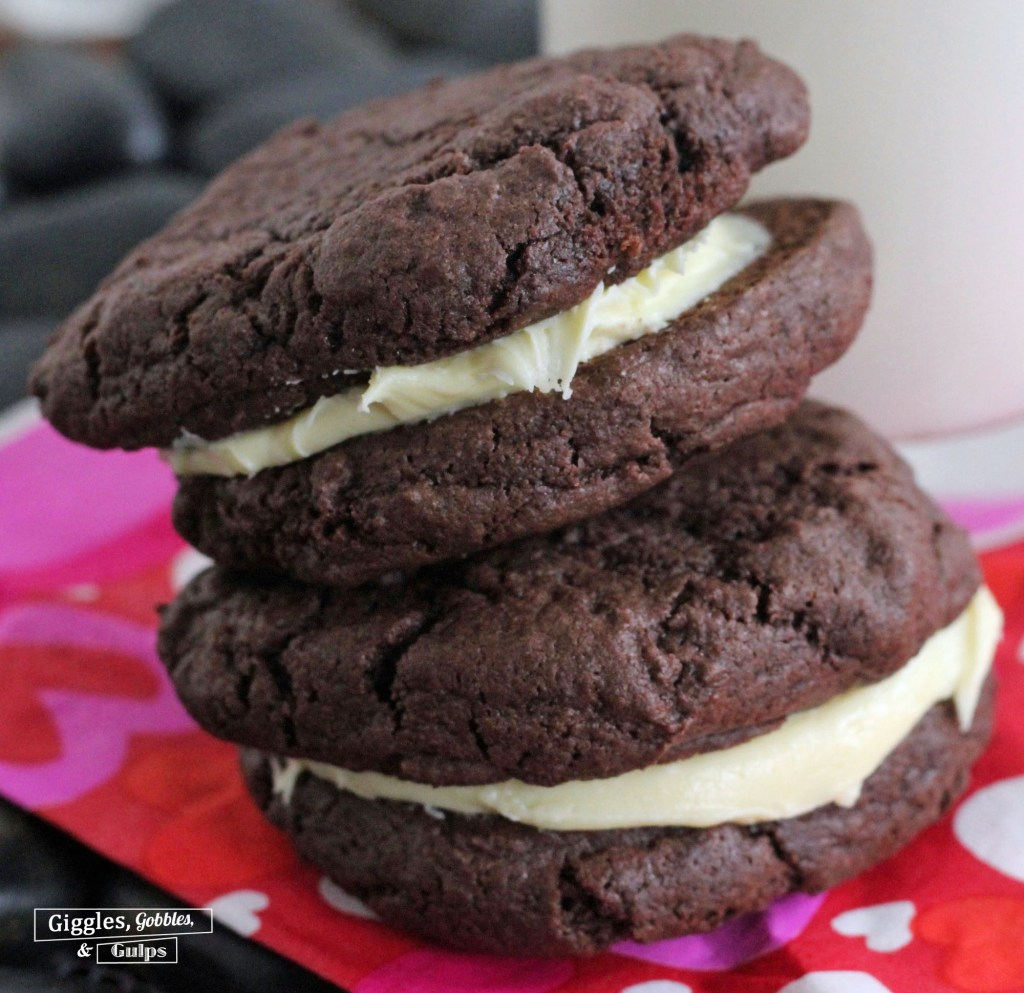 Whoopie Pies from Cake Mix