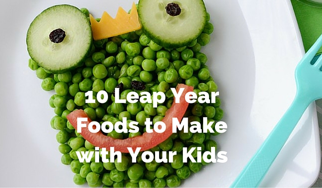 10 Leap Year Foods to Make with Your Kids | Mini Chef Mondays