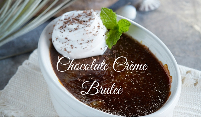 Bonefish Grill's Chocolate Crème Brulee