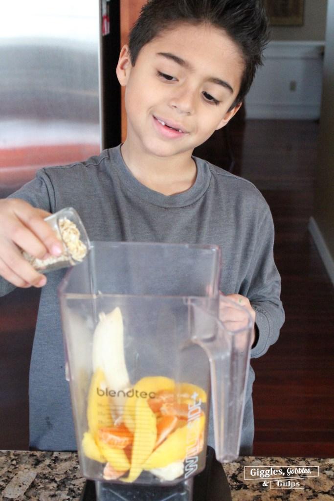 mango clemenntine banana smoothie1