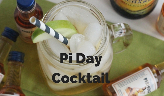 Pi Day Cocktail with Piehole Whiskey