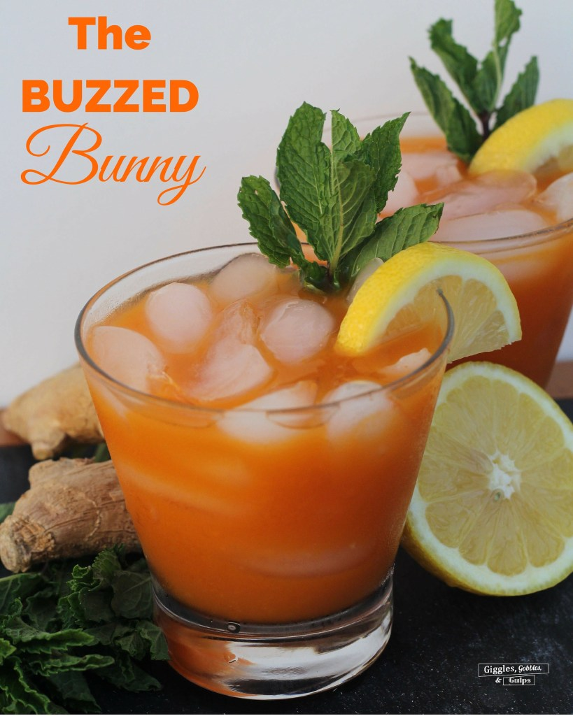 buzzed bunny easter cocktail