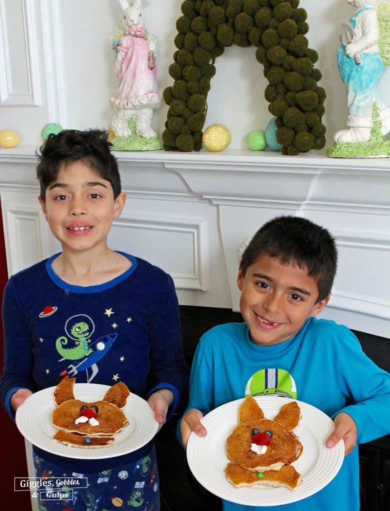 bunny rabbit pancakes for easter-2 copy