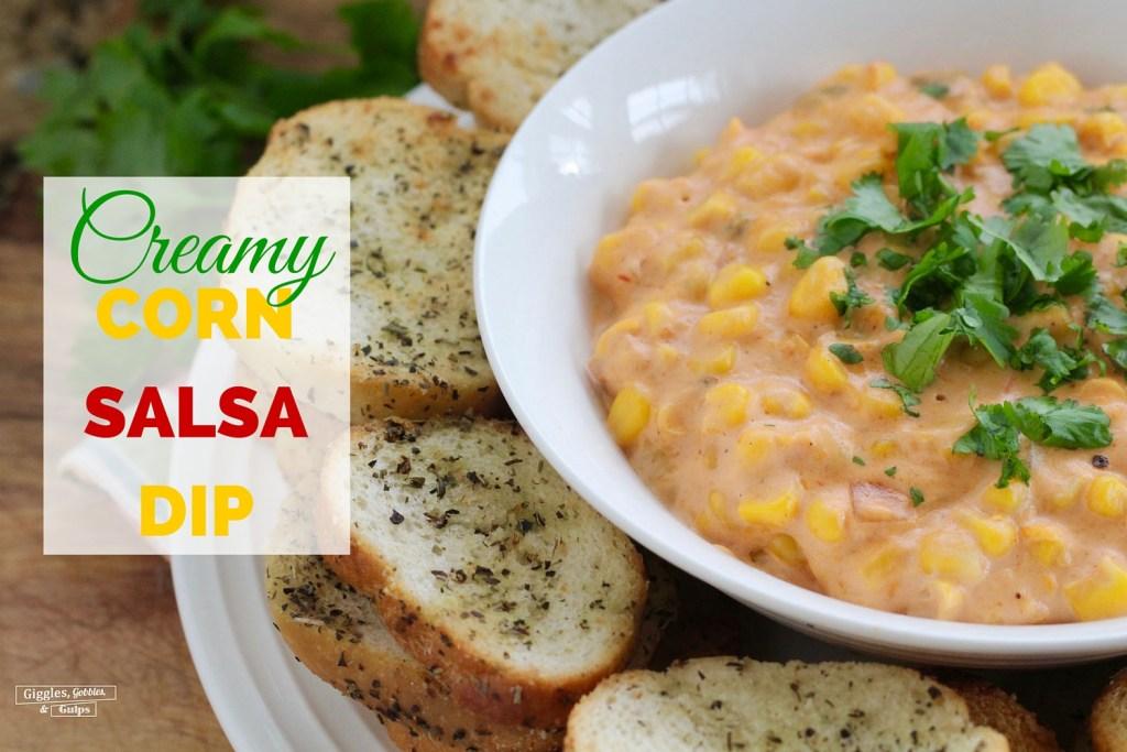 Creamy Corn Salsa Dip