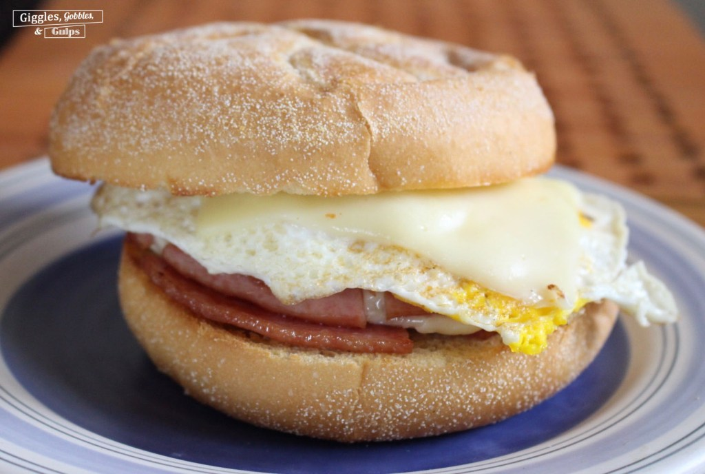 pork roll egg and cheese.