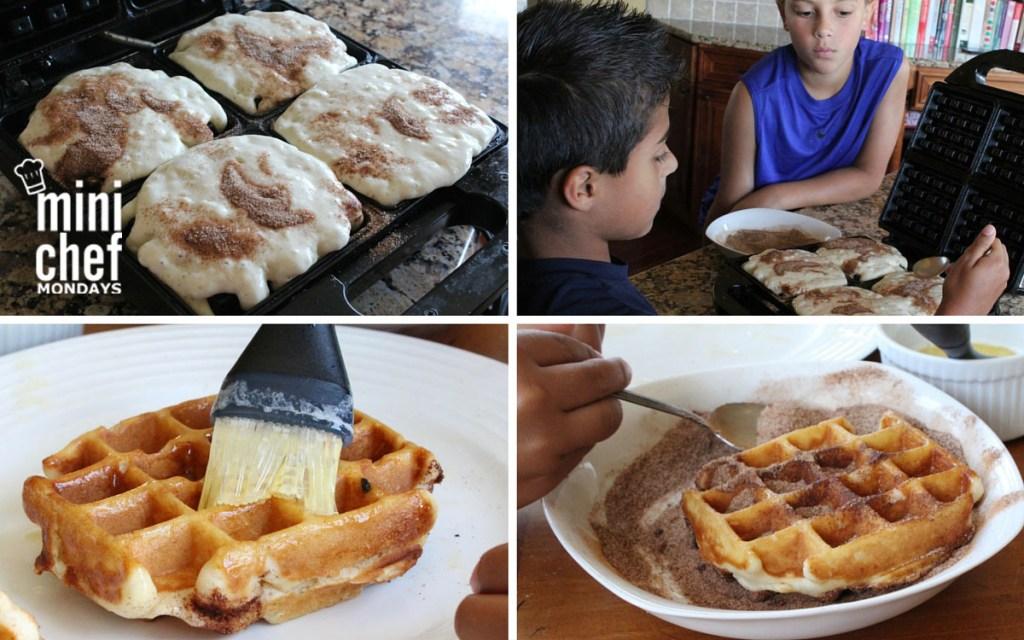 Cinnamon Sugar Waffle Sticks