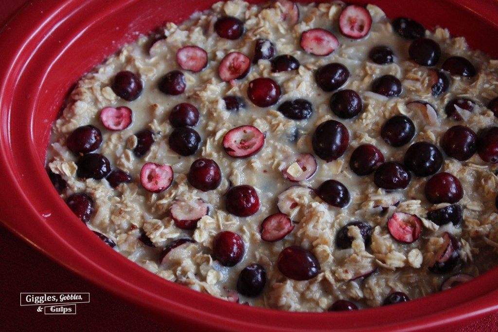 Cranberry Coconut Baked Oatmeal