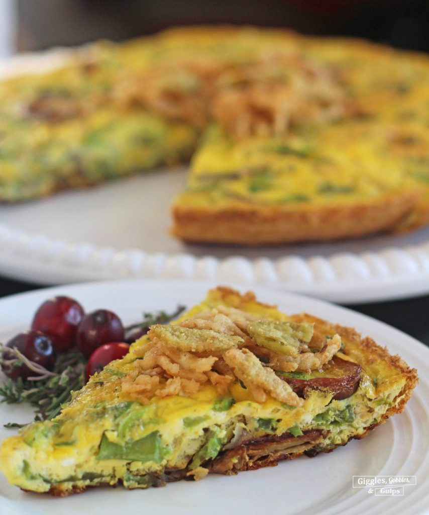 Bell Pepper Potato Frittata