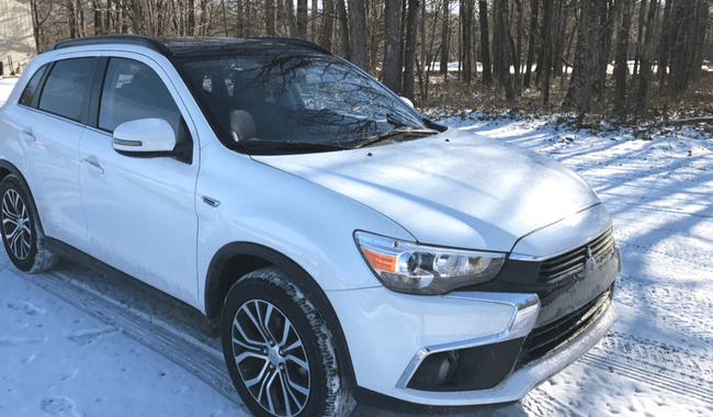 Poconos Bound in the 2016 Mitsubishi Outlander Sport