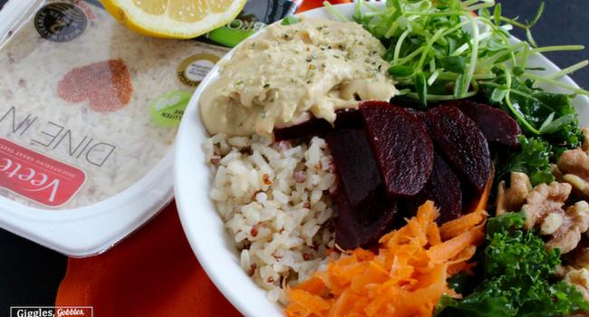 Brown Rice Quinoa Buddha Bowl