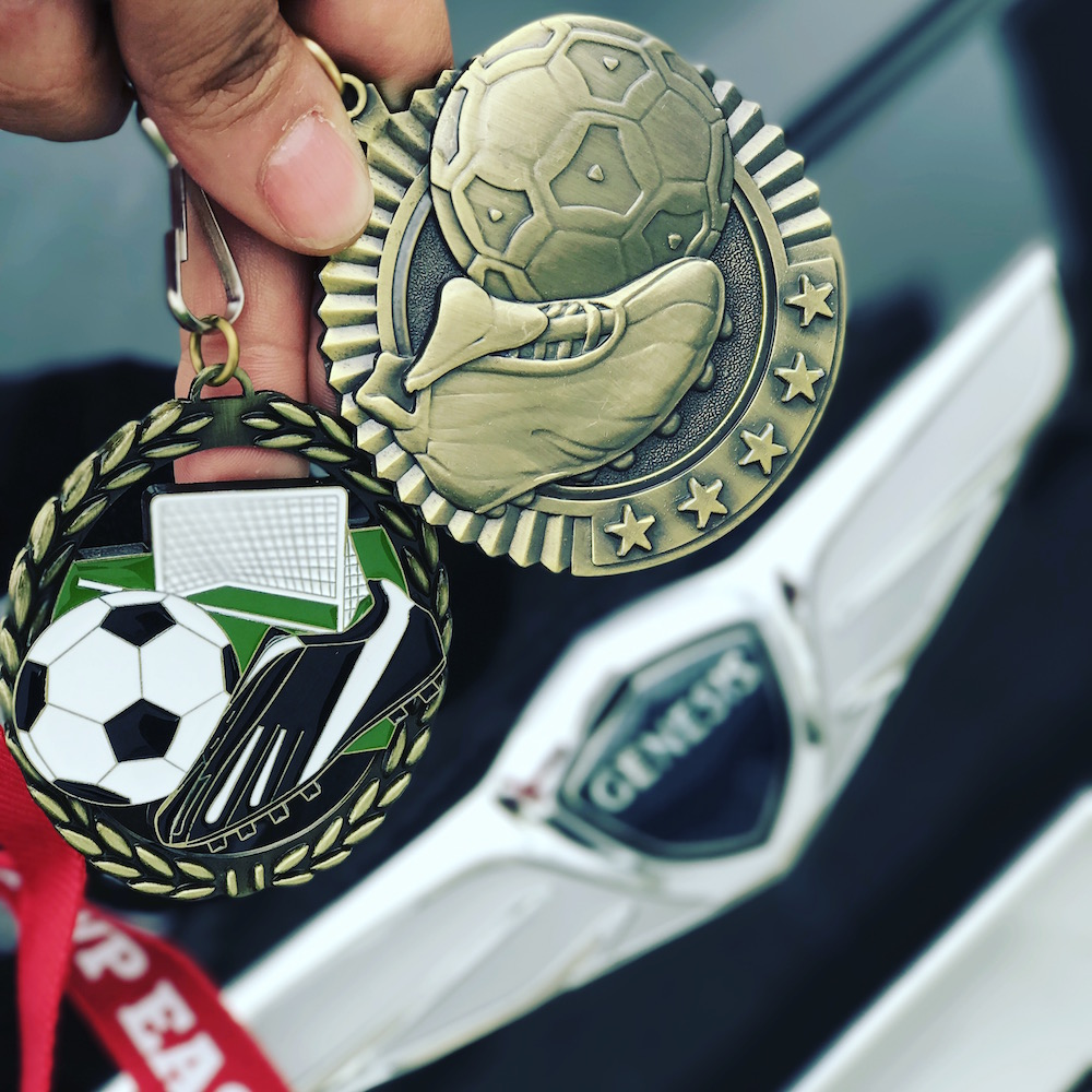 My MVP's medals were almost as pretty as the Genesis G80.