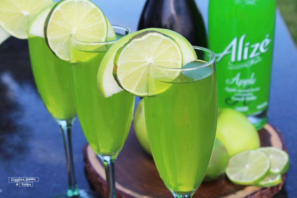 Alize Apple Champagne Cocktail