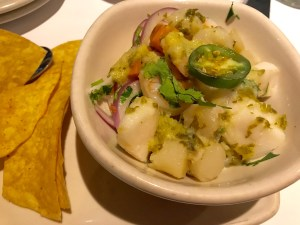 Fresh Ceviche Appetizer