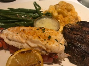 Filet Mignon & Cold Water Lobster Tail