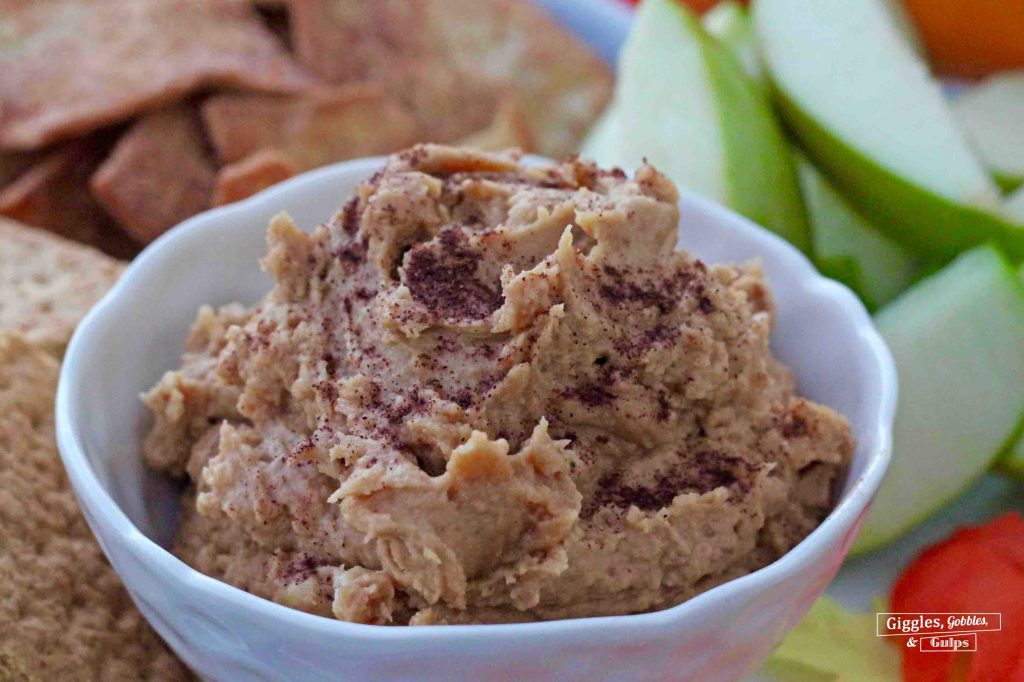 apple cider peanut butter dip