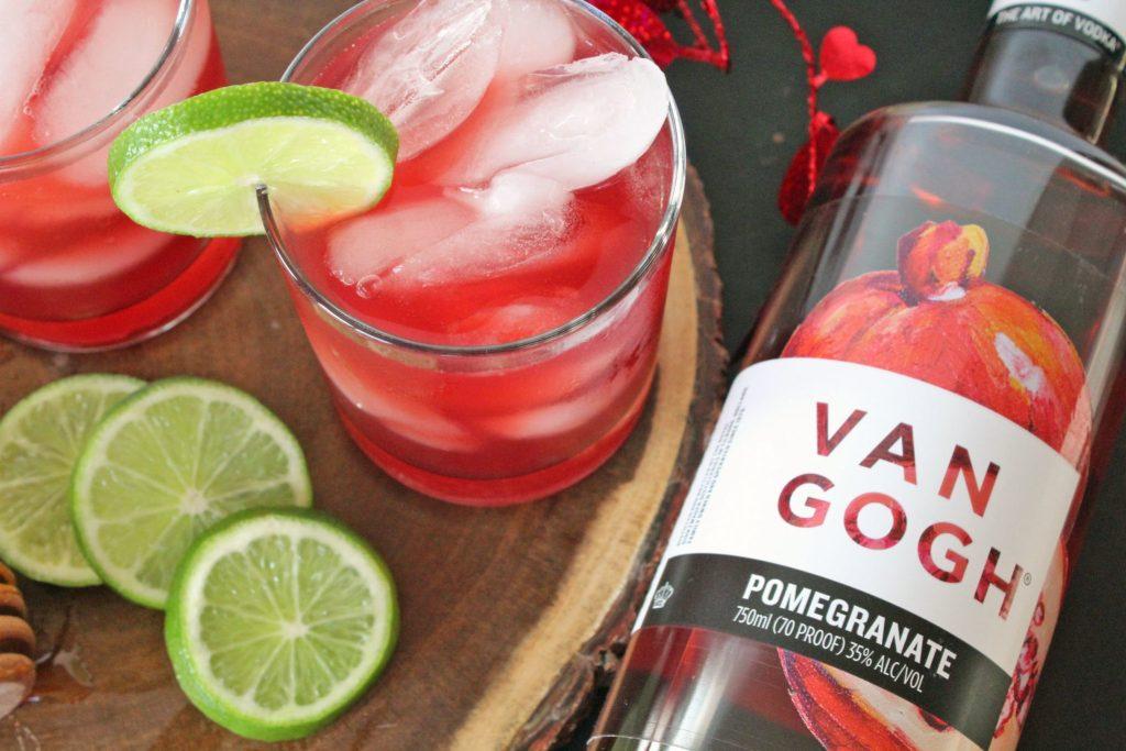 Honey Pomegranate Cocktail