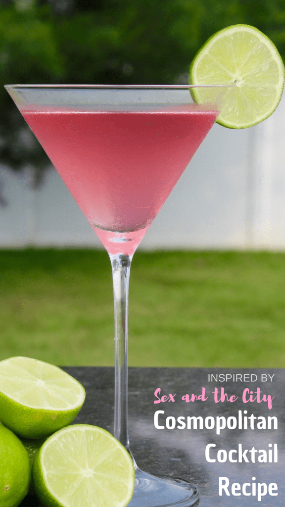 Sex and the City Cosmopolitan Cocktail Recipe