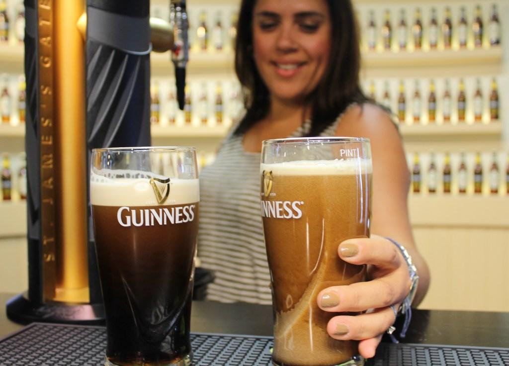 Guinness settle