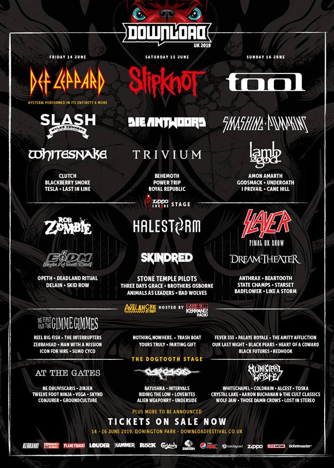 Download Festival 2019 third