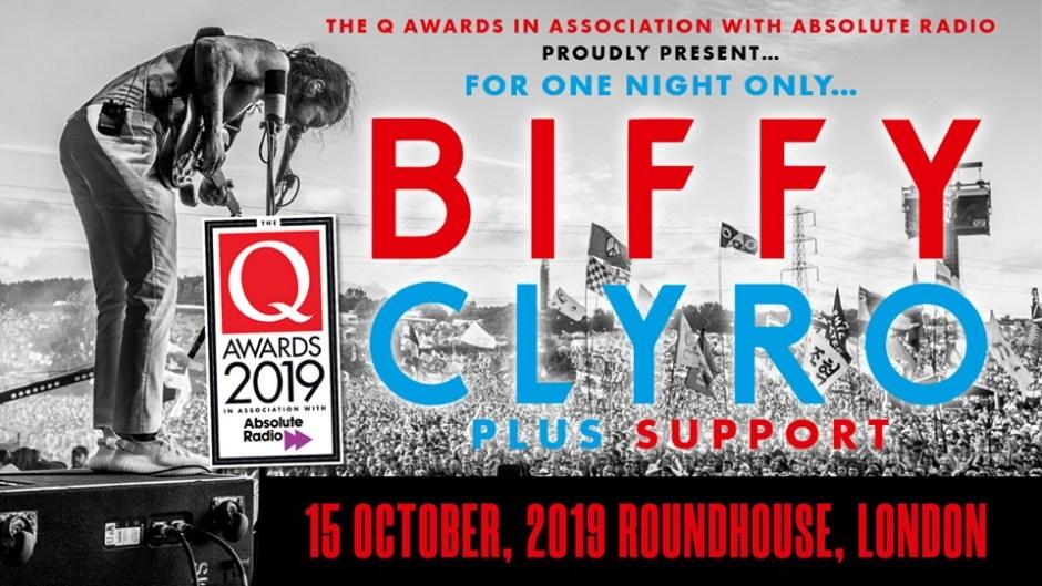 Biffy Clyro Q Awards Show 2019
