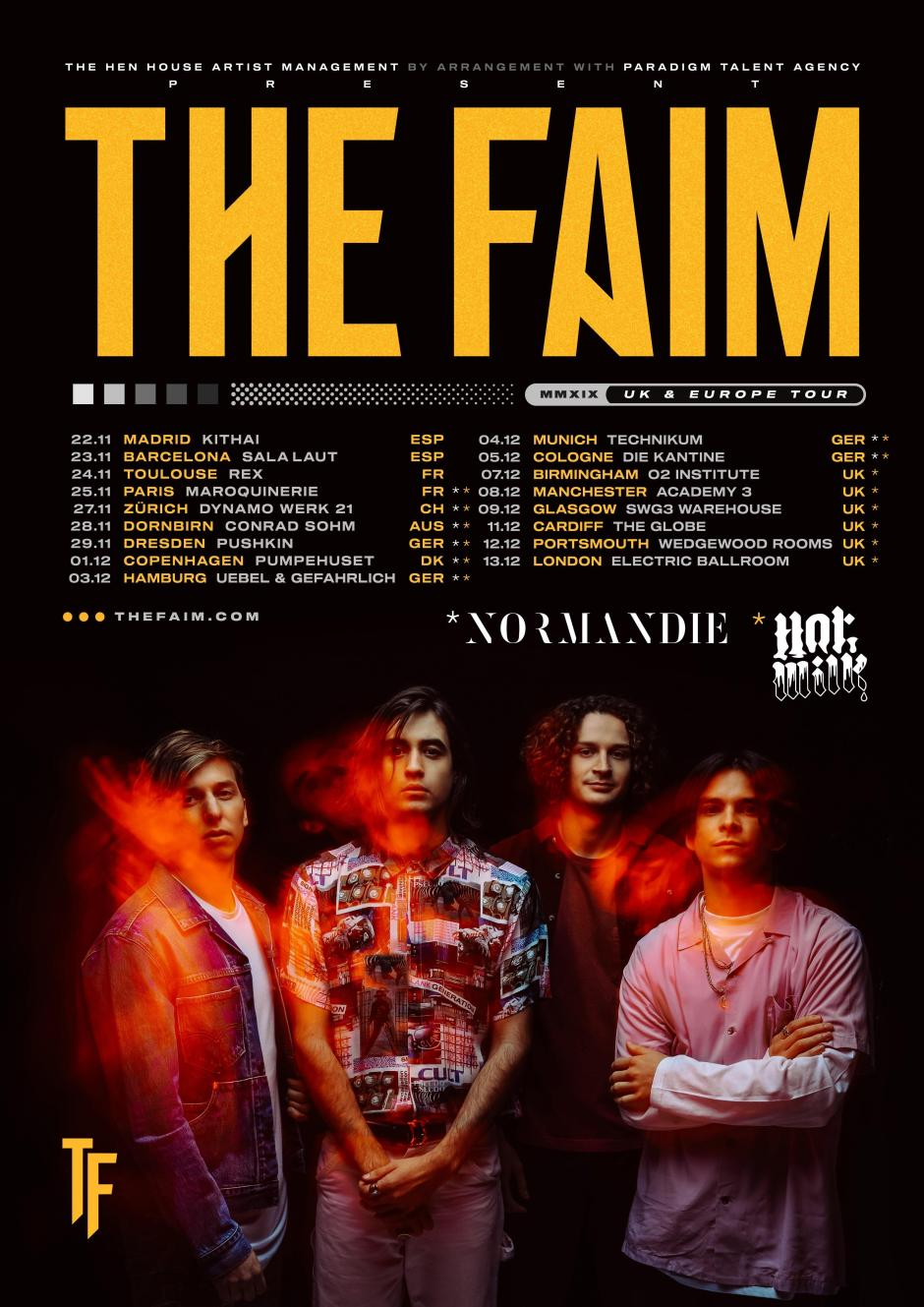 The Faim Tour 2019