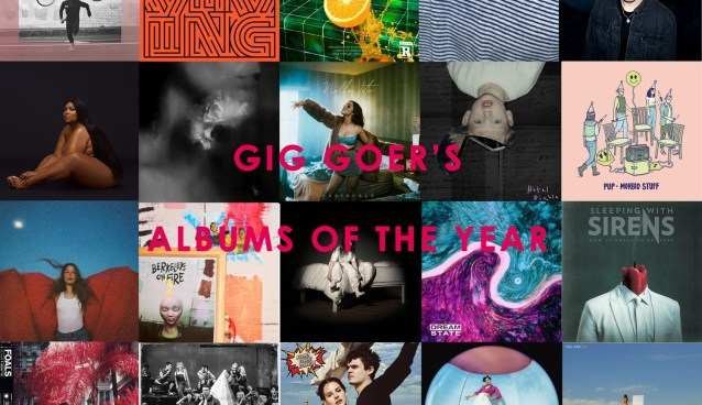 GIG GOER Albums Of The Year 2019