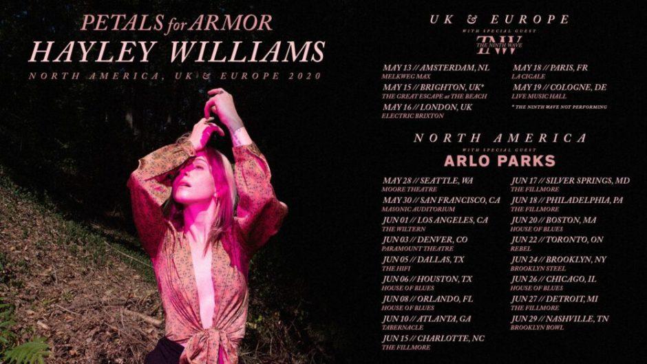 Hayley Williams UK Tour 2020