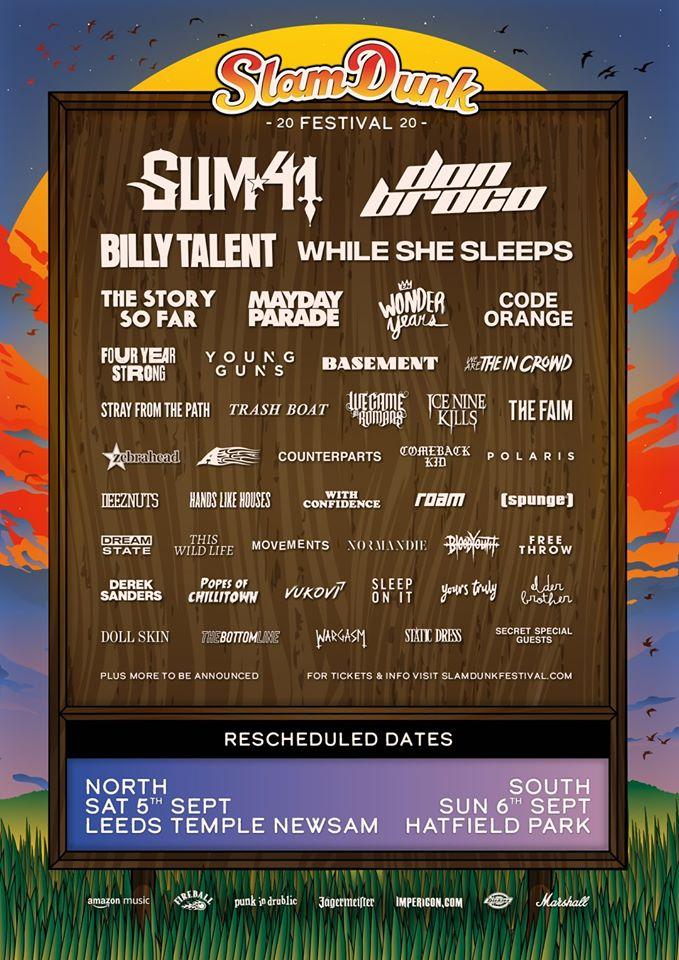 Slam Dunk September 2020