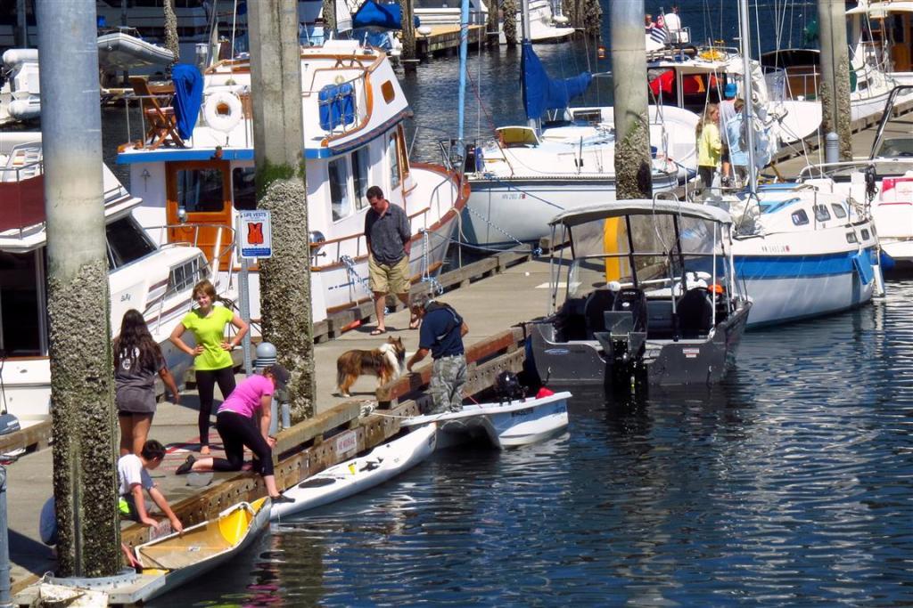 Waterfront activities