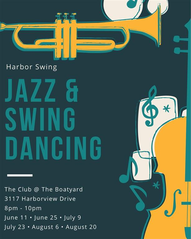Swing dance flyer