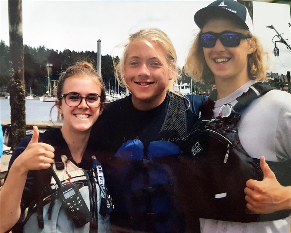 Junior Sail instructors