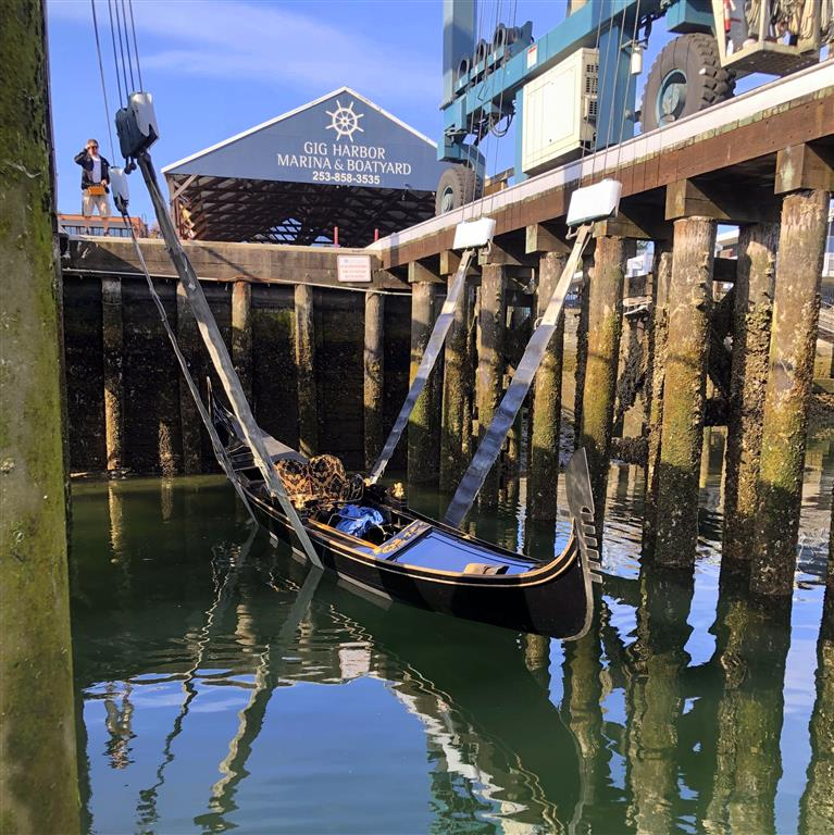 Gig Harbor Gondola Expands Fleet | Gig Harbor Marina & Boatyard