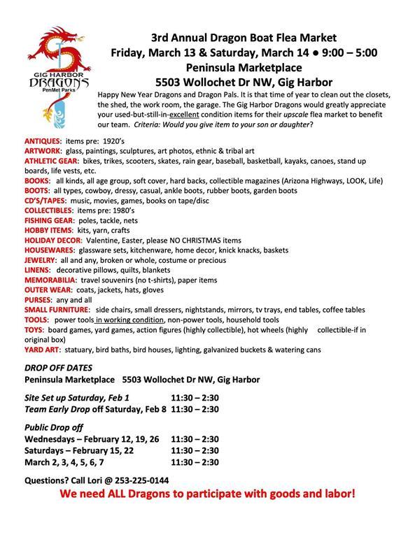 flea market list
