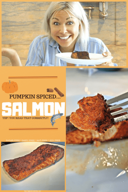 Pumpkin Spice… Salmon?! by GiGi Eats Celebrities