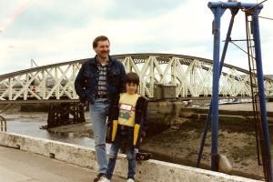 Luke in the Isle of Man 1980s