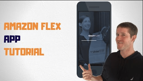 how to use the amazon flex app beginners