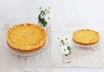 Cheesecake mandorla zucca cannella https://gikitchen.wordpress.com/2014/10/06/cheesecake-alla-zucca-con-mandorle-e-cannella/